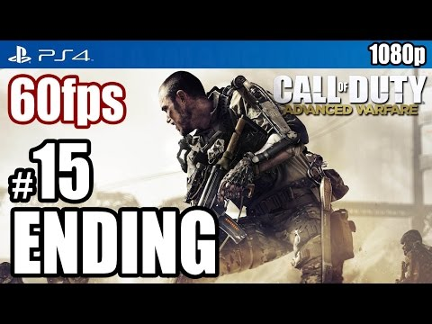 Call of Duty Advanced Warfare (PS4) ENDING Walkthrough PART 15 60fps [1080p] TRUE-HD QUALITY