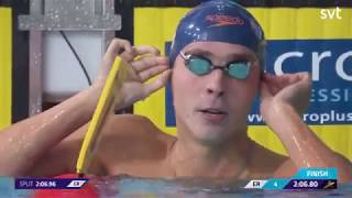 ANTON CHUPKOV SWIMS SECOND FASTEST TIME IN HISTORY - Swimming European Championships 2018