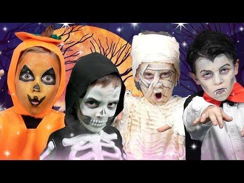 Halloween Finger Family | We Love Face Paint