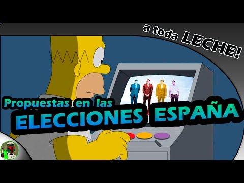 A quién votar en las Elecciones de España Resumen de partidos politicos