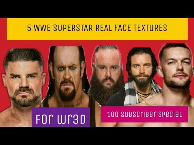 wr3d face texture