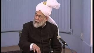English Translation: Dars-ul-Quran 12th February 1996: Surah An-Nisaa verse 13
