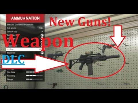 GTA 5 Online: Special Carbine & Heavy Pistol(Guns)|Dangerous Business DLC