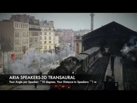 EXPERIMENTAL 3D Audio - Train Station by Pierre Verany. Angle/Speaker:~10, Distance:~1m