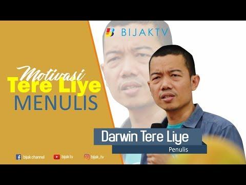 Tere Liye || Motivasi Tere Liye Menulis || BIJAK TV