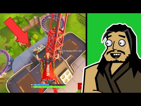 Roach Plays Fortnite | The Squad Gameplay (Sniping at Fatal Fields)
