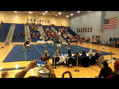 King George High School 2nd Round  4A North Cheer 2014