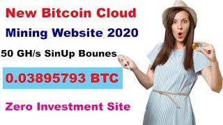 Best Free Bitcoin Mining Website 2020 _ Bitcoin Cloud Mining SiteSite 2020