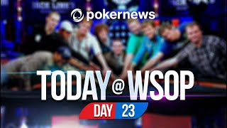WSOP 2021 | ANOTHER MILLION DOLLAR SCORE FOR ADDAMO! | Update Day 23