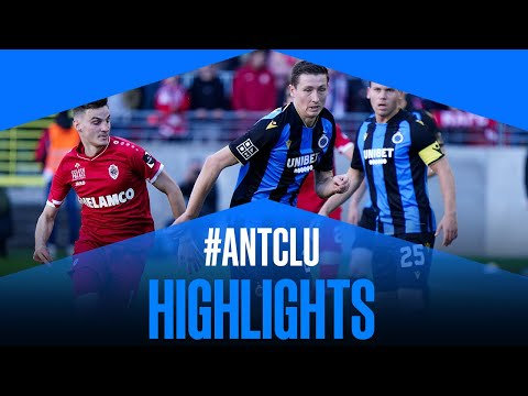 Antwerp Club Brugge Goals And Highlights