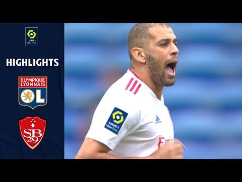 Lyon Brest Goals And Highlights