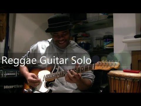 Reggae Guitar Solo