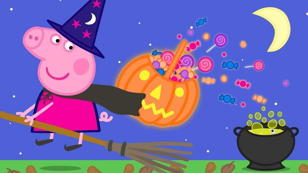 Peppa Pig Official Channel 🎃 Dress up for Halloween with Peppa Pig   Halloween Special 🎃