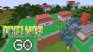 NEW TRAINERS & A WHOLE NEW WORLD | Pixelmon Go (Pokemon in Minecraft) S2 #7