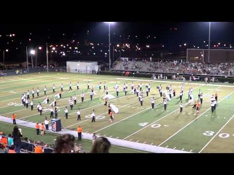 Morristown East High School Marching Band Sept 12th 2014