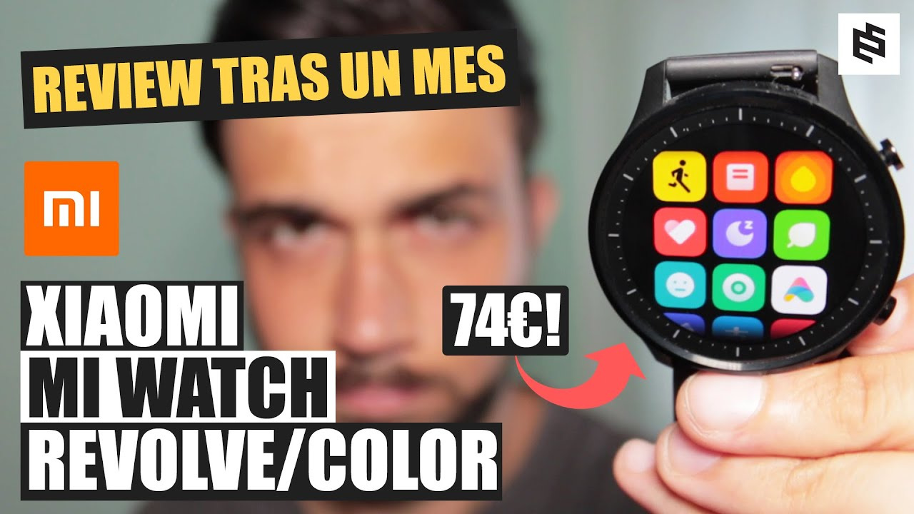 InCrEíBlE💥Xiaomi MI WATCH REVOLVE o COLOR🤯REVIEW en español TRAS UN MES de USO