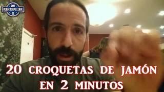 20 McNuggets de McDonalds vs 20 croquetas de jamón en dos minutos