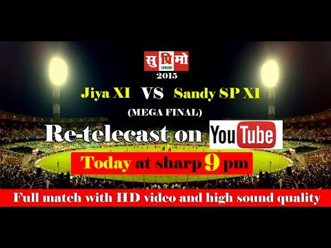Suprimo-2015 Finale (HD)- Jiya 11 Vs Sandy Sp-11