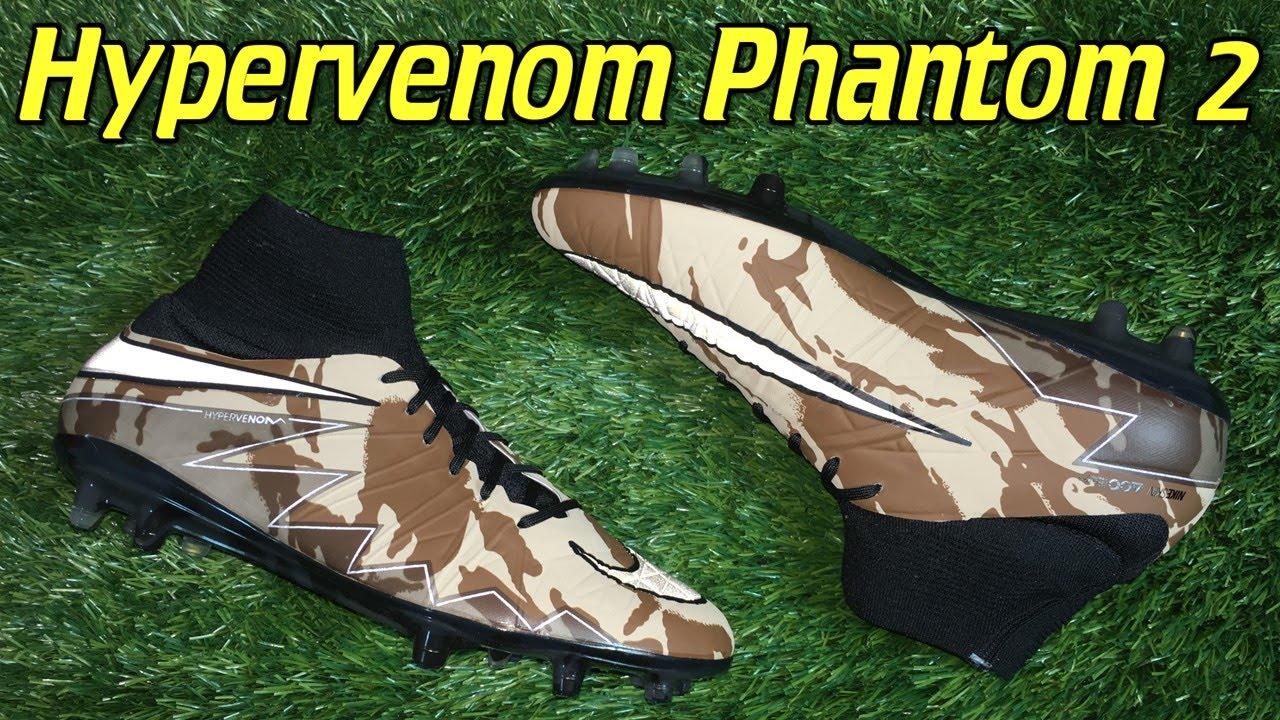 99f28653ea92 Nike Hypervenom Phantom 2 Camo Pack - Review + On Feet - YouTube