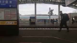 【阪神電車初!!~車内自動放送開始~】