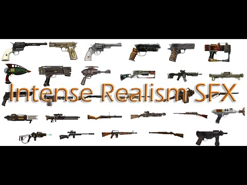 Intense Realistic Gun