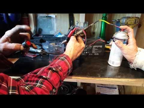 Injector cleaning for Suzuki GXR 600
