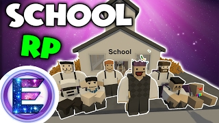 SCHOOL RP - Be quiet during class - Unturned roleplay ( Funny Moments )