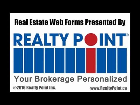 Ontario Real Estate Web Forms