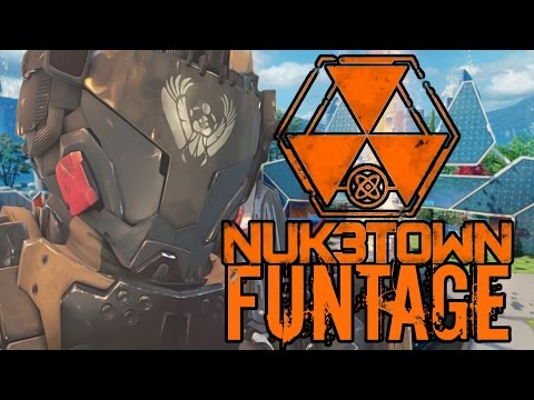 CALL OF DUTY NUKETOWN FUNTAGE  (black ops 3 funny moments)