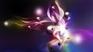 Урок_22_Adobe Photoshop CS5!!! Создание абстрактной композиции!!! Урок для новичков!!!