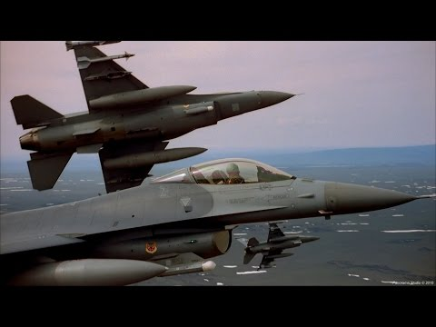 Red Flag Highlights: F-15 vs F-16 Dogfights (IMAX/FHD)