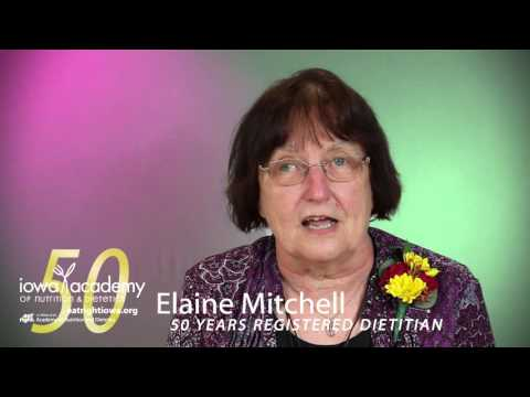 50 Year Featured Member - Elaine Mitchell