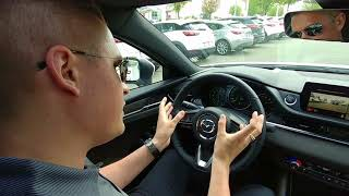 Neil Berry Demonstrating the All-New 2018 Mazda 6 at VIP Mazda