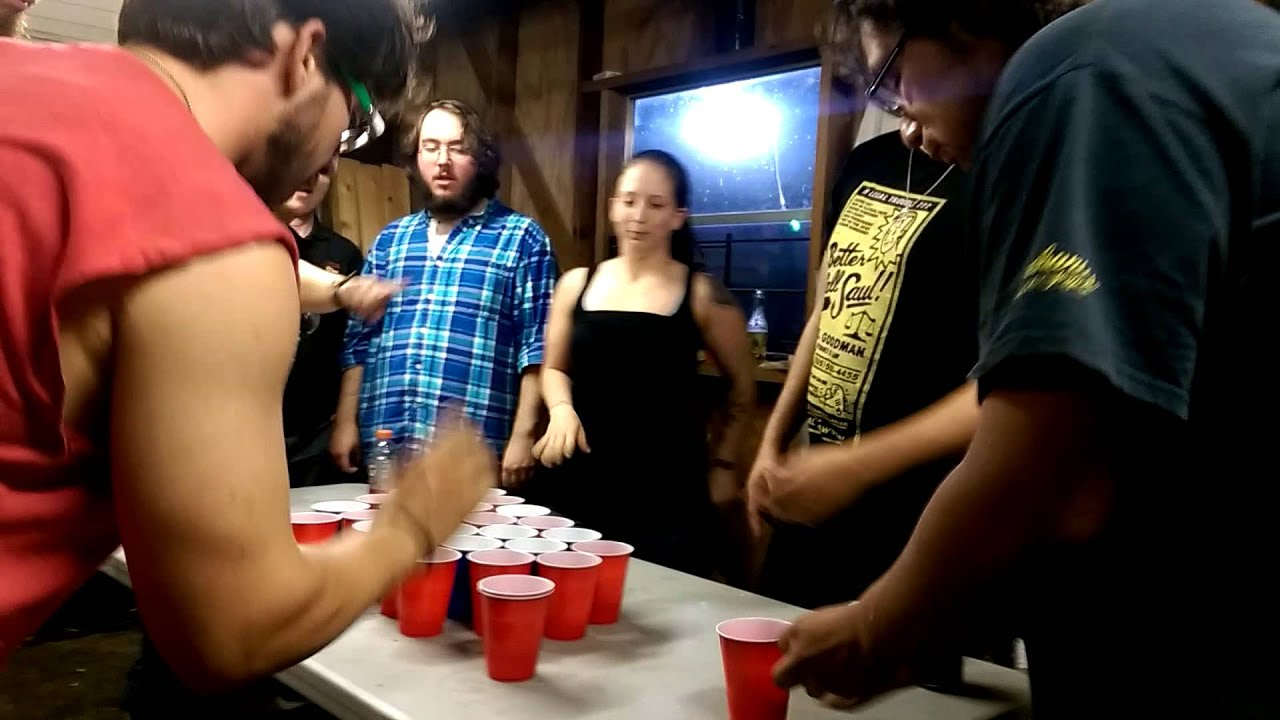 Stack Cup Game Drinking