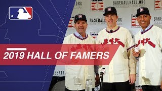 Hall of Fame Class of 2019 is introduced