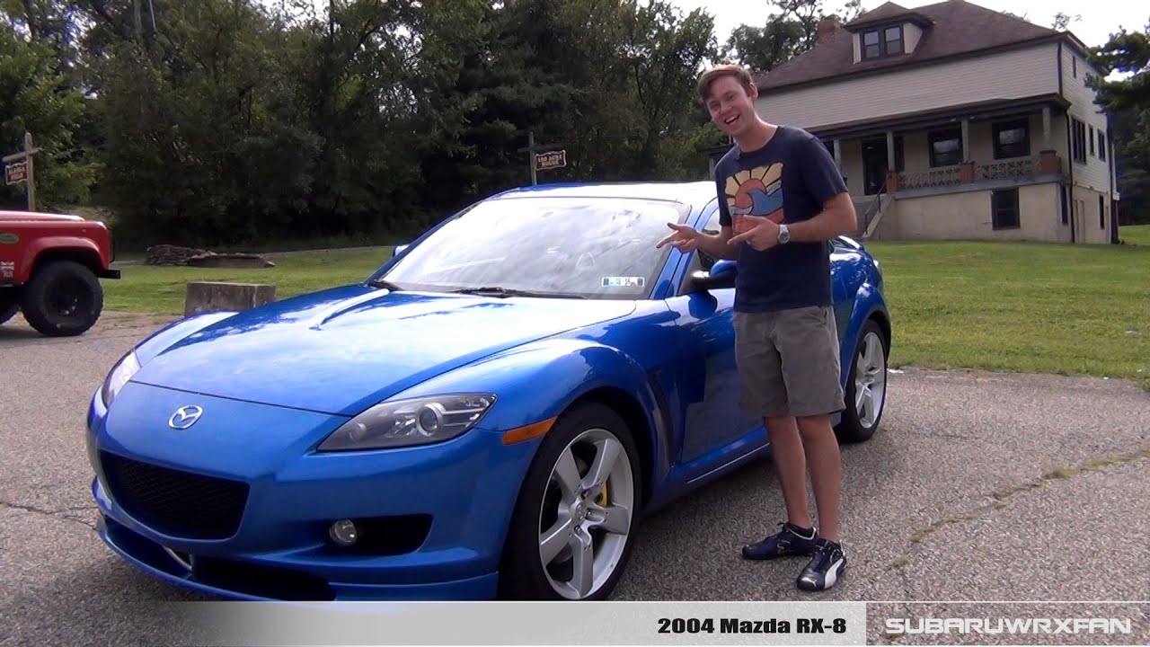 review 2004 mazda rx 8 youtube. Black Bedroom Furniture Sets. Home Design Ideas