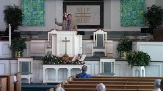 Sermon July 26 2020 Staying Alive
