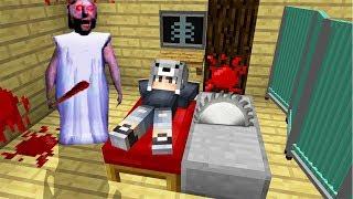 KORKUNÇ BÜYÜKANNE BENİ ÖLDÜRCEK! - Minecraft