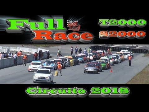 FULL RACE CIRCUITO PANAMÁ 2018  - T2000 / S2000