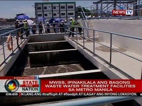 SONA: MWSS, ipinakilala ang bagong waste water treatment facilities sa Metro Manila