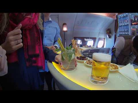 Flying Emirates Business Class On The Airbus A380