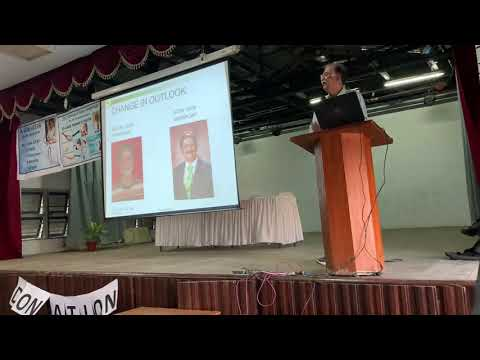 Organ Donation Awareness Talk At St Anne's College, Malad By Dr Anil Suchak