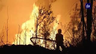 أكثر من 900 إطفائي يكافحون حرائق في البرتغال (21/7/2019)