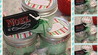 DIY 4-Ingredient Minty Christmas Body Scrub Thumbnail