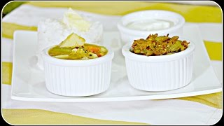 South Indian Lunch/ Dinner Menu 1 - Dondakaaya Ulli Karam & Mixed Vegetable Kootu