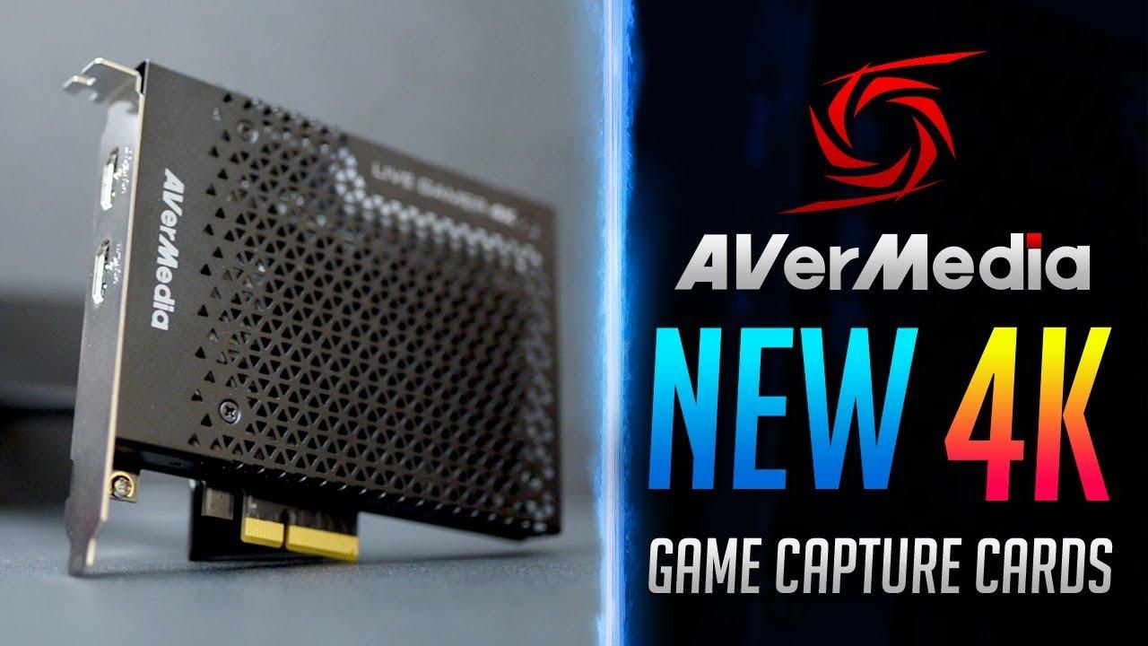AVerMedia New 4K Game Capture Cards - Computex 2018 - YouTube