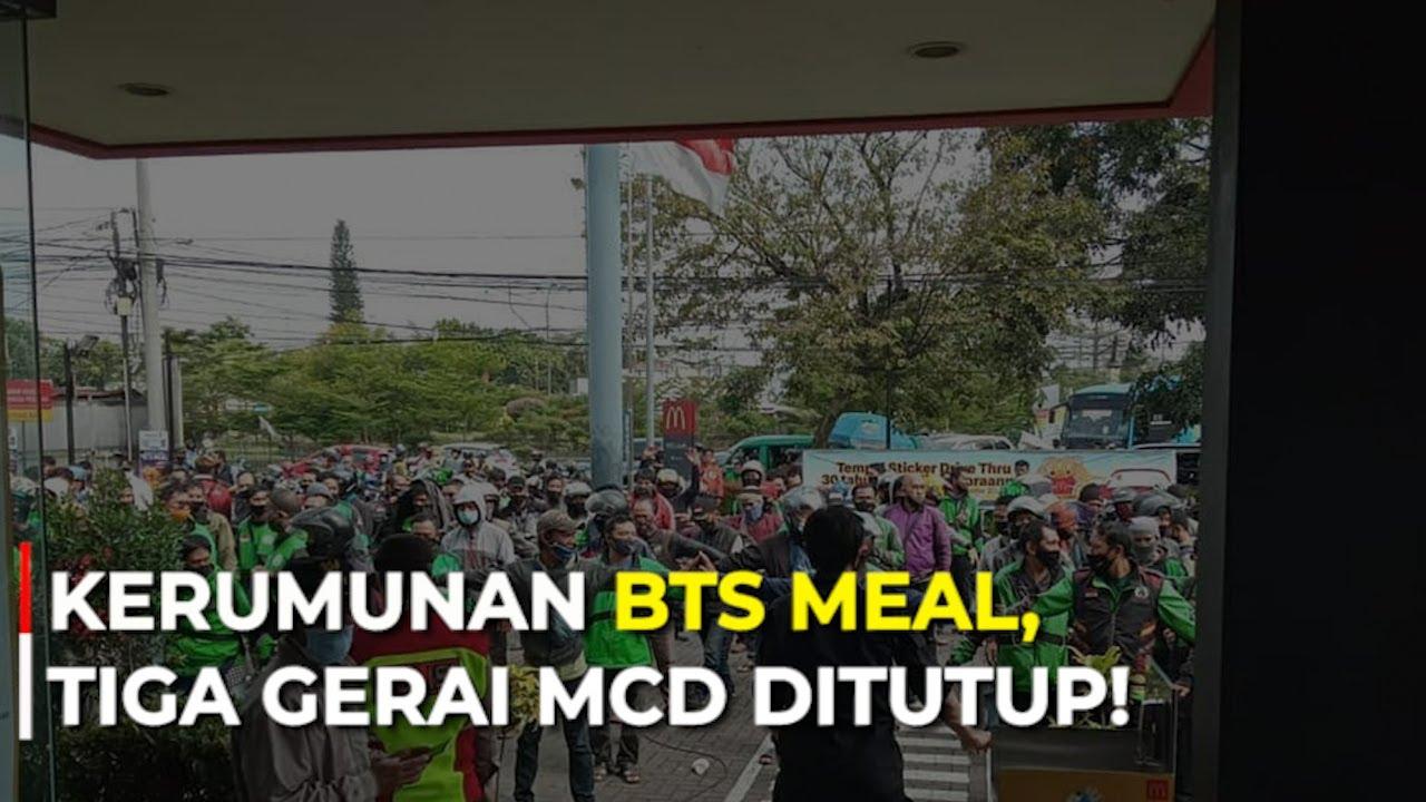 Kerumunan BTS Meal, Tiga Gerai McD Ditutup!
