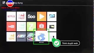 Nâng cấp phần mềm tivi sony để sửa lỗi không vào được youtube 2018
