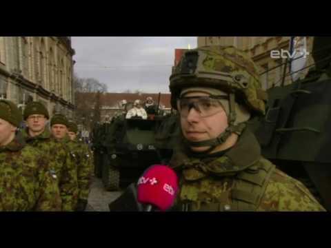 Интервью нарвитянина на параде в Таллинне