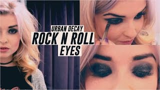 Rock N Roll Eyes FT. Urban Decay | Helen Anderson ad